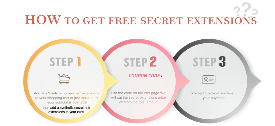 get free secret hair extensions 02