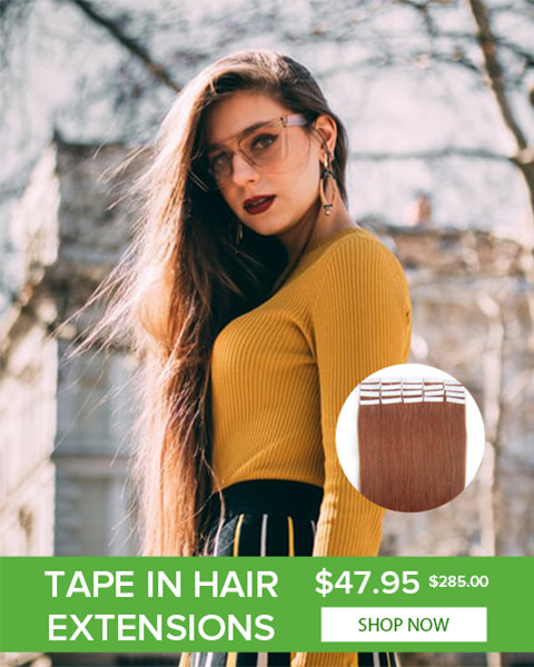 2021 Easter Day hair extensions clip in