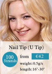 100 stands nail tips hair extensions